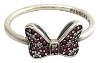 PANDORA Pandora Disney Minnies Sparkling Bow Ring 6 190956czr-52