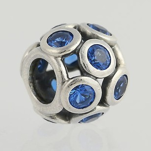 PANDORA Pandora Whimsical Lights Charm - Sterling Silver Swiss Blue 791153nsb