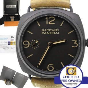 Panerai Panerai Radiomir Black Composite Day Pam 504 47mm Watch Box Papers