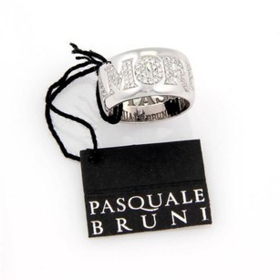 Pasquale Bruni ,Pasquale,Bruni,18kt,White,Gold,Diamond,Amore,Wide,Band,Ring