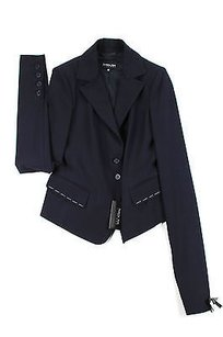 Patrizia Pepe Patrizia Pepe 8 Us Womens Suit Blue Wool Blend -