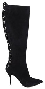 Paul Andrew Knee High Black Boots