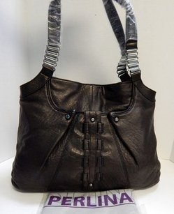 Perlina Mia Tote in Black