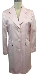 Petite Sophisticate Pastel Trench Coat