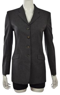 Piazza Sempione Womens Gray Jacket