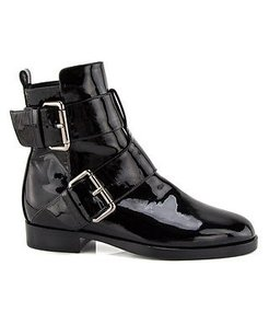 Pierre Hardy Patent Black Boots