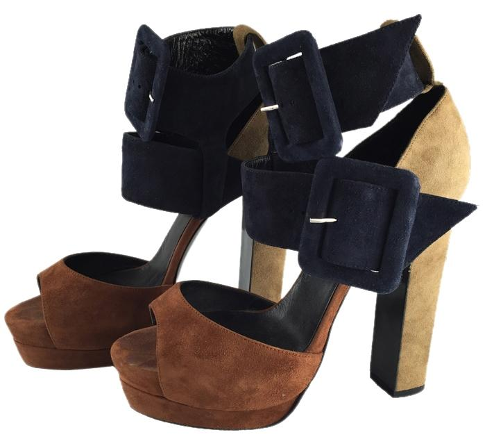 best deals clearance genuine Pierre Hardy Platform Suede Sandals buy cheap with paypal cost cheap online bAVjIq34Su