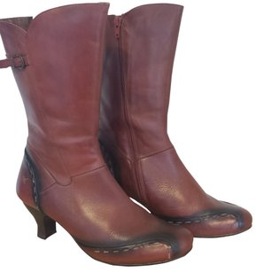 PIKOLINOS Leather Red Boots
