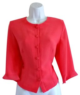 Other Vintage Bell 1980s 80s Retro Pink Jacket
