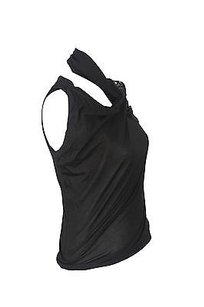 Pinko 11d4xr 2683 Black Halter Top