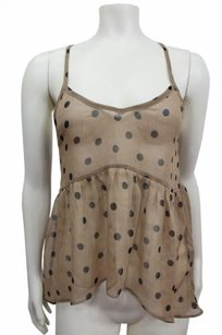 Pins and Needles Urban Outfitters Top Black tan