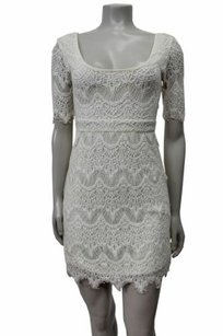 Pins and Needles short dress Ivory Lace on Tradesy