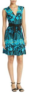 Plenty by Tracy Reese Floral V-neck Shift Dress