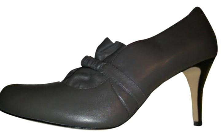 Plenty Plenty Plenty by Tracy Reese Grey Leather Soft Comfortable Casual Formal Pumps Size US 11 Regular (M, B) f7f903
