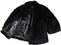 Black Fur Jacket Dg Coat
