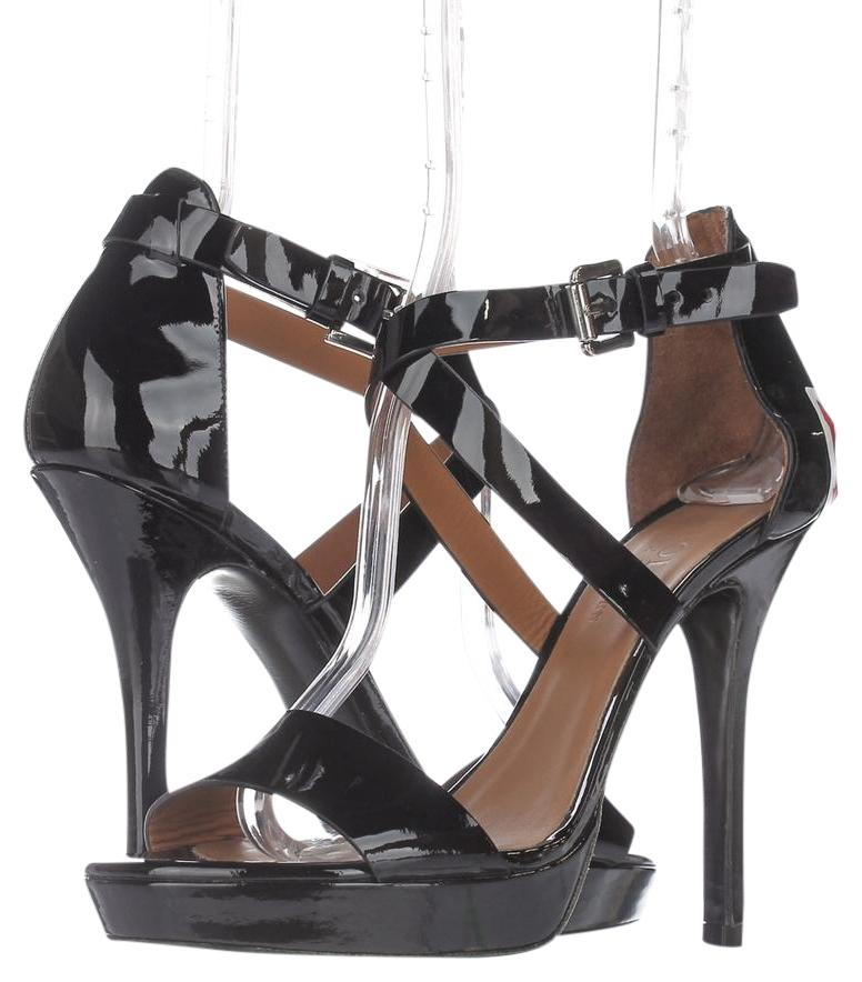 202f67864c09 Polo Ralph Lauren Black Evening Sandal Sandals Sandals Sandals   39 Eu  Platforms Size US 9