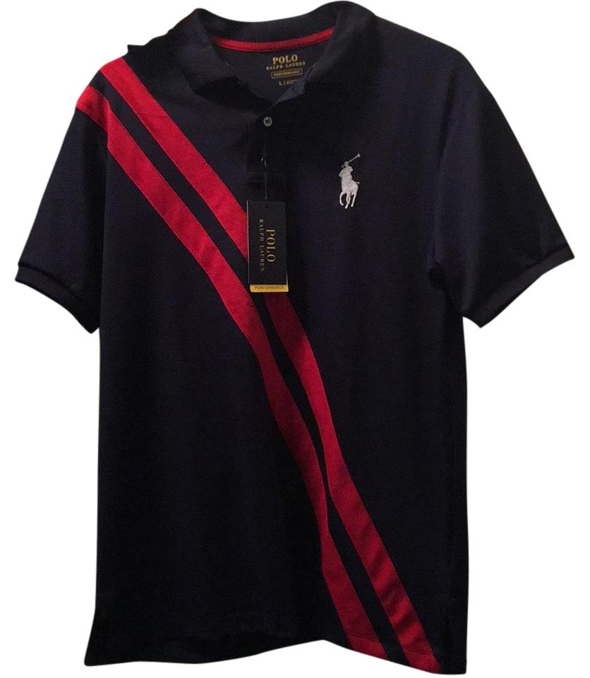 Polo Ralph Lauren Top Blue and red ...