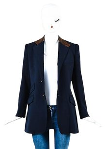 Polo Ralph Lauren Navy Brown Blue Jacket
