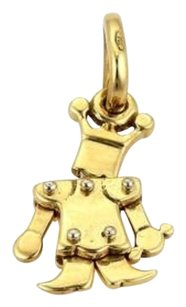 Pomellato Pomellato Animated Mini King Charm Pendant In 18k Yellow Gold