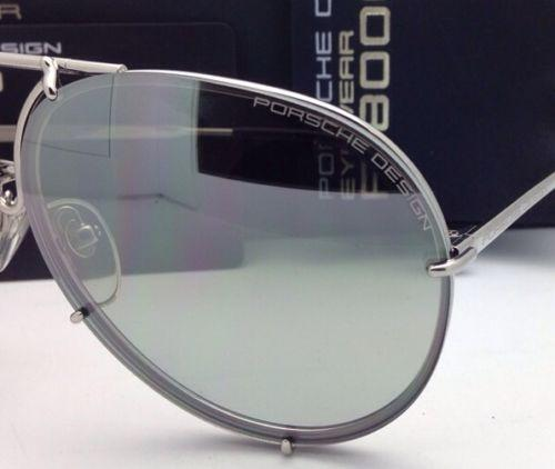 new sunglasses design  PORSCHE DESIGN New Titanium Aviator Sunglasses P\u00278478 B 63-10 ...