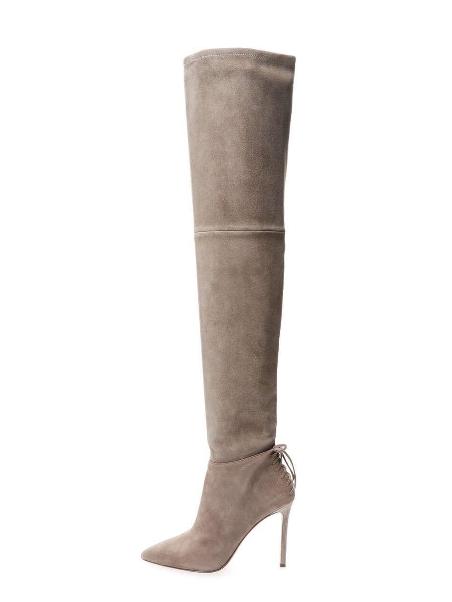 outlet choice Pour La Victoire Leather Over-The-Knee Boots genuine cheap price sale 2015 clearance official site footlocker pictures cheap online l4kzoM38H