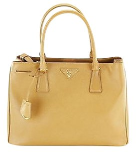 Prada Shoppers Tote in Caramel