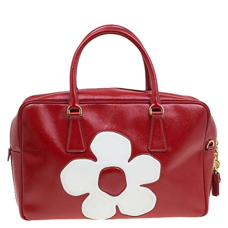 b60d2eaf2e05 promo code for prada patent leather bauletto tote in red white. 1234567  5419c 454bd