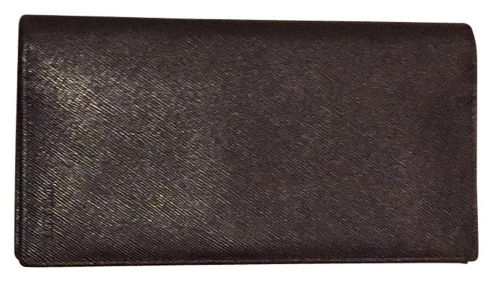 46a8f02e257e ... shopping prada authentic prada mens saffiano leather long wallet a5391  56c29