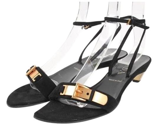 sandales prada noir taille taille taille us 7 a0bfa8