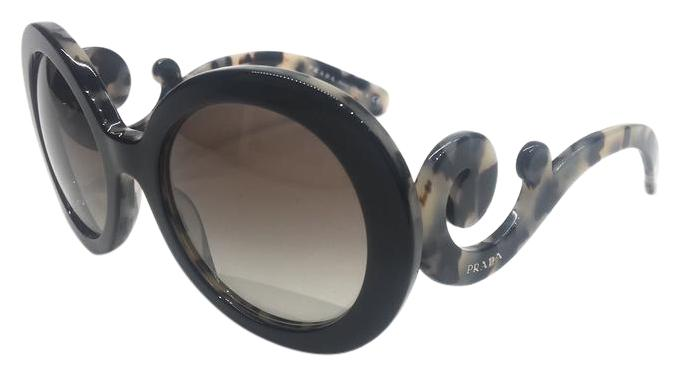 b68119316ecd2 ... norway prada new rounded prada baroque sunglasses spr 27n r0k 4m1 free  shipping 043be c66f5 ...