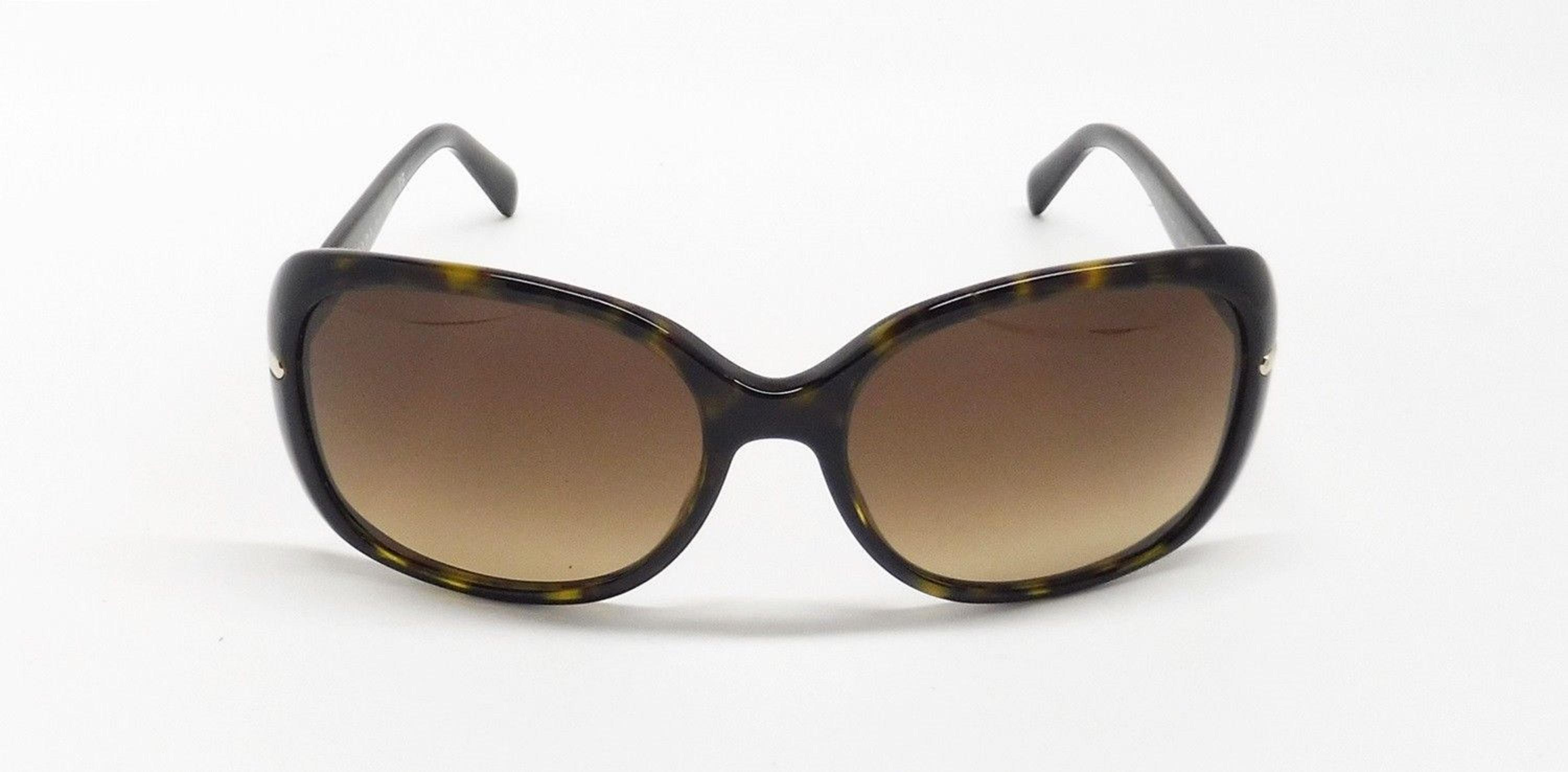 5e7e060054568 ... clearance prada brown tortoise with gold accents spr 08o stylish  sunglasses 3f264 5fa00