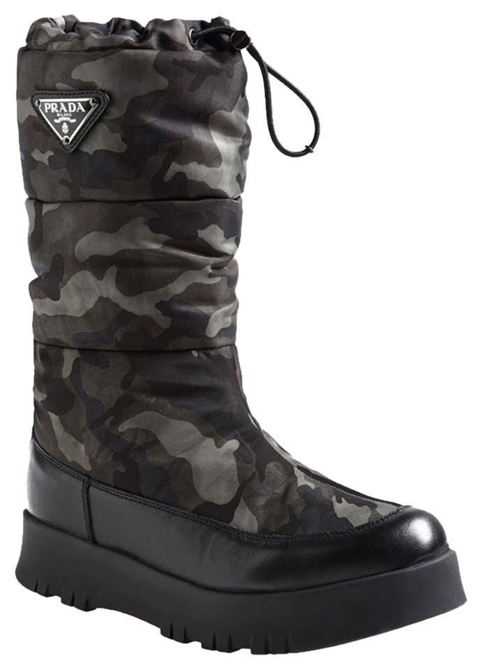 cheap sale Prada Sport Camouflage Mid-Calf Boots outlet store buy cheap very cheap BVRJ9OJtR5