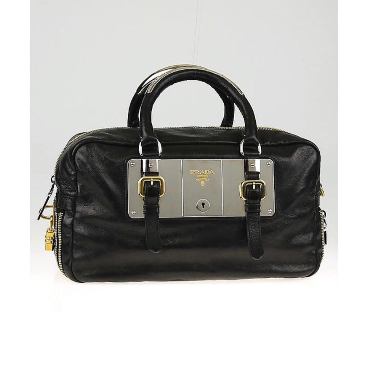 ... discount code for prada leather gold hardware silver hardware shoulder  bag ceb4a ab26b bb627ddbe5d38