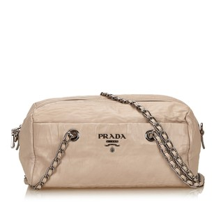 Prada Ivory Leather Others Shoulder Bag