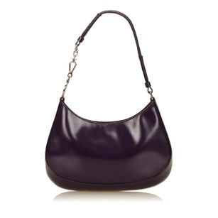 Prada Leather Others Purple Shoulder Bag