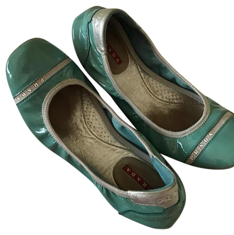 325a18bf8 Prada Light Size US 7 Regular (M, B) Flats Blue nwuboz1966-Flats ...