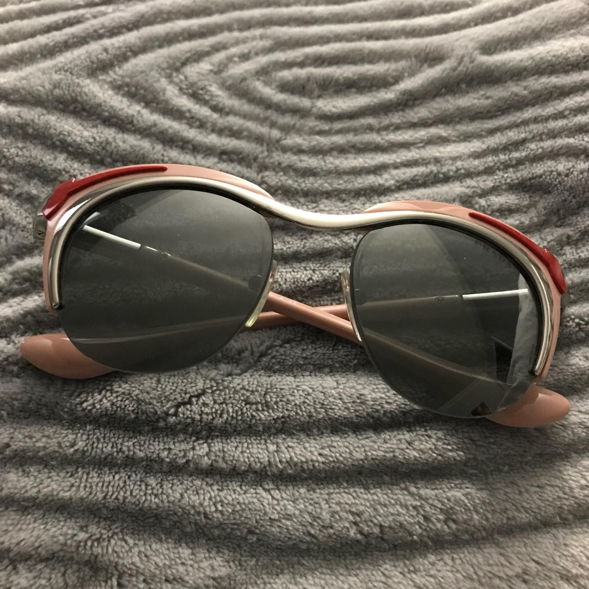 0457c6ad90 ... reduced prada light pink dixie sunglasses tradesy 31676 af84b