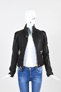 Prada Sport Shearling Motorcycle Jacket
