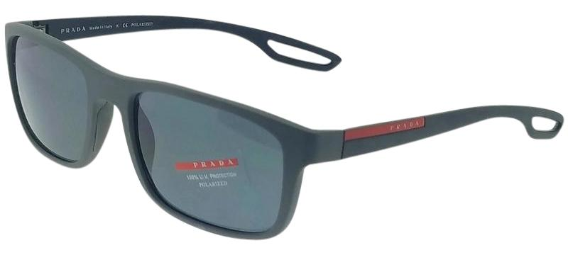 0a54932dc841 ... spain prada sport ps03rs ufk5z1 men grey frame grey lens 56mm polarized  sunglasses 1dc05 f99f1