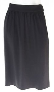 Prada Lightweight Career Pencil Xlnt Skirt Black
