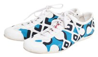 Prada White/Blue Athletic