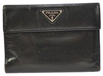 Prada Wristlet in black