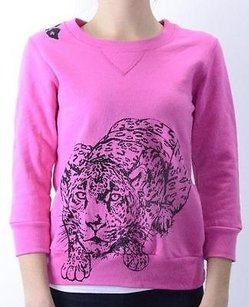 Primp Pink Fleece Crew Neck Sweatshirt