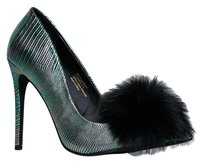 Privileged Closed-toe Green Pumps