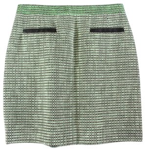Proenza Schouler Green Leather Proenza Ej Skirt