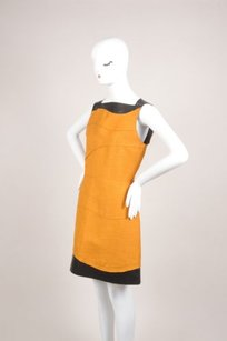 Proenza Schouler Camel Black Dress