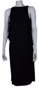 Proenza Schouler short dress Navy Blue Proenza Womens Below Knee Shift Career on Tradesy
