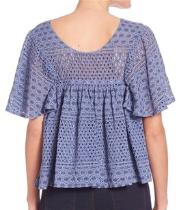 Prose & Poetry Shoulder Layers Flowy Top Marigold