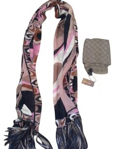 Emilio Pucci Gorgeous Pucci Silk and Wool Wrap (Super Large)