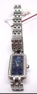 Pulsar Pulsar Womens Pex541 Crystal Lapis Dial Watch Read Description